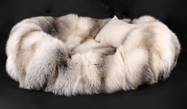 Hundebett aus Skandinavischen Fawnlight Füchsen