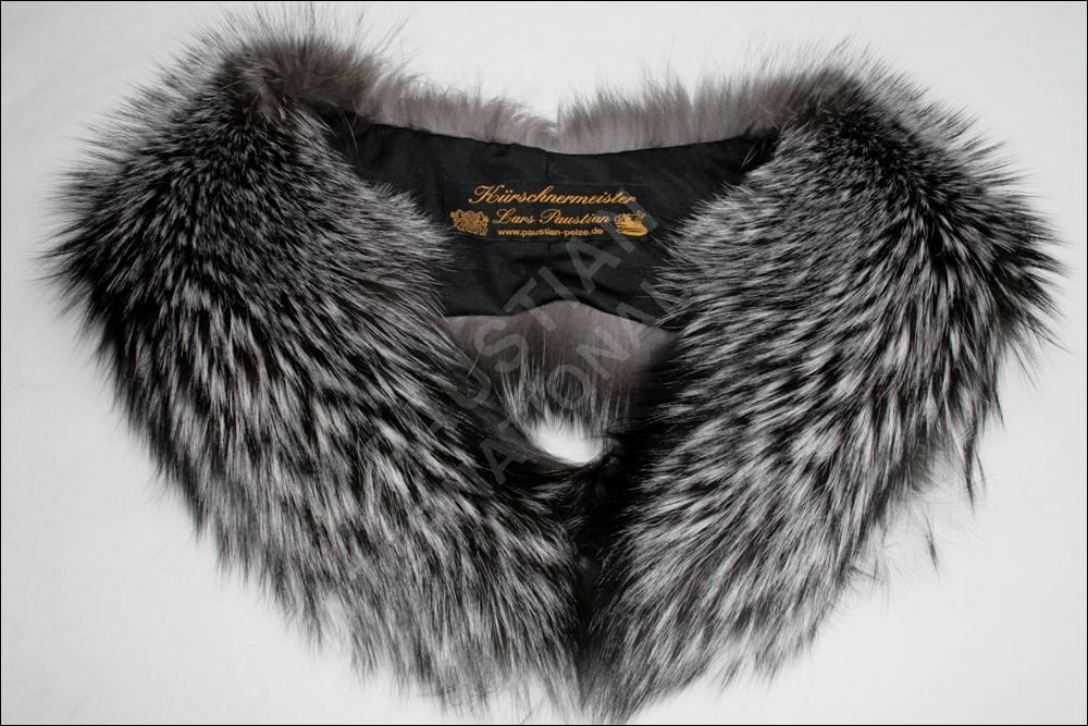 950 silberfuchs pelzkragen fellkragen pelz kragen ecthpelz. Black Bedroom Furniture Sets. Home Design Ideas