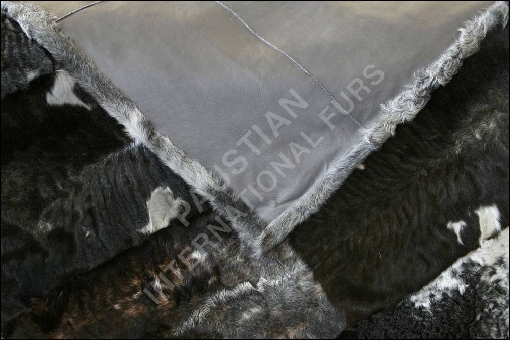 731 persianer pelzdecke grau wei echtpelz felldecke. Black Bedroom Furniture Sets. Home Design Ideas