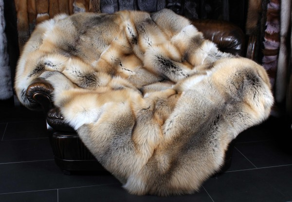 Golden Island Fuchs Pelzdecke