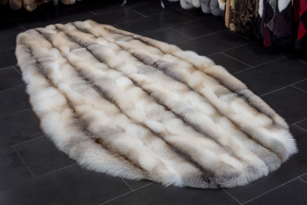 Fawnlight Fuchs Teppich - Ovale Form