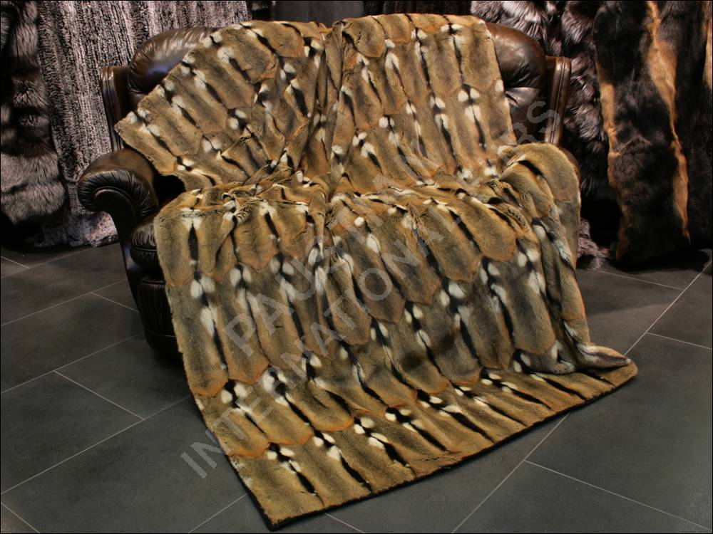 592 maihamster pelzdecke felldecke pelz decke hamster ebay. Black Bedroom Furniture Sets. Home Design Ideas