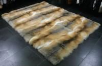 Edler Pelzteppich aus Golden Island Füchsen