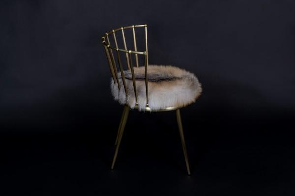Skandinavischer Golden Island Fuchs Stuhl