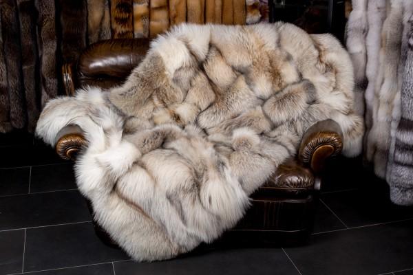 "Fuchs Pelzdecke ""Smokey"" (SAGA Fur)"