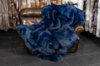 Blaue Silberfuchs Pelzdecke aus Skandinavischen Füchsen