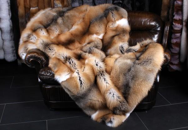 Golden Island Fuchs Felldecke
