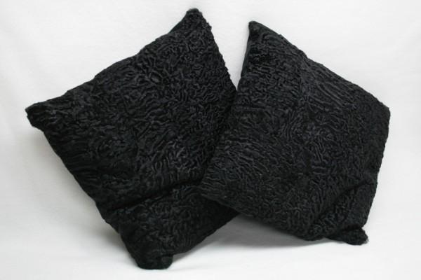 Breitschwanz Persianer Pelz Kissen