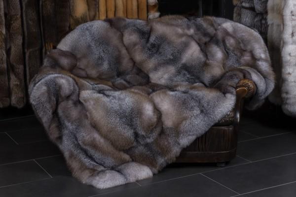Braune Blue Frost Fuchs Pelzdecke
