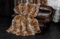 Europäische Rotfuchspfoten Fell Decke
