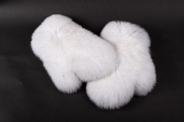 Handschuhe aus Skandinavischem Blaufuchs