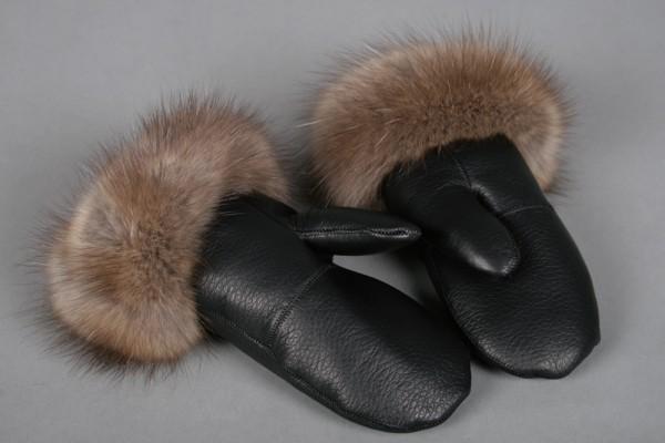 Edle Zobel Handschuhe
