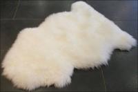 Australisches Schafsfell in weiß