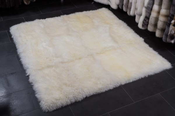 Lammfell Teppich aus australischen Lammfellen