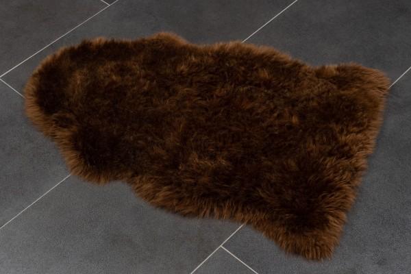 Australisches Lammfell in dunkelbraun