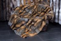 Kanadische Wild Cross Fuchs Felldecke