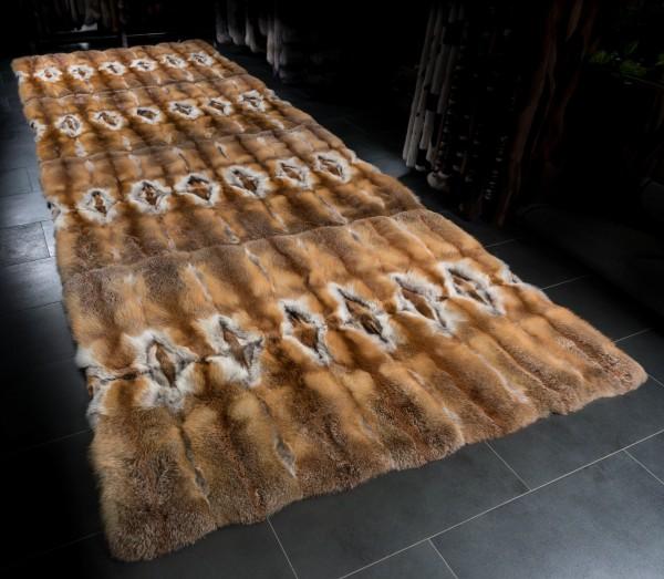 Pelzteppich Europäischen Rotfüchsen