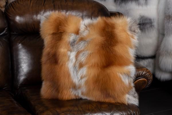 Kanadisches Rotfuchsstücken Fellkissen