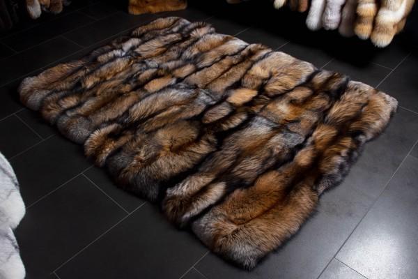 Smokey Echtfell Fuchsteppich - Felle vom besonderen Smokey Fuchs
