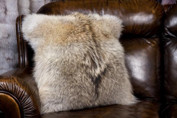 Kojoten Fellkissen Fur Harvesters Qualität