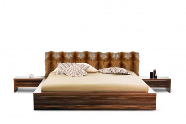 Bett Kopfteil aus Europäischen Rotfuchs