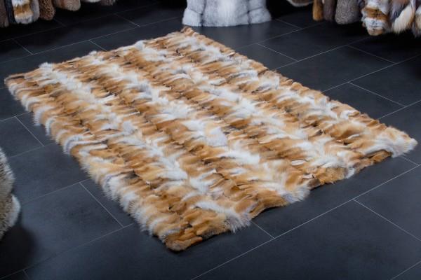 Heller Rotfuchspfoten Fellteppich aus Europäischen Rotfüchsen