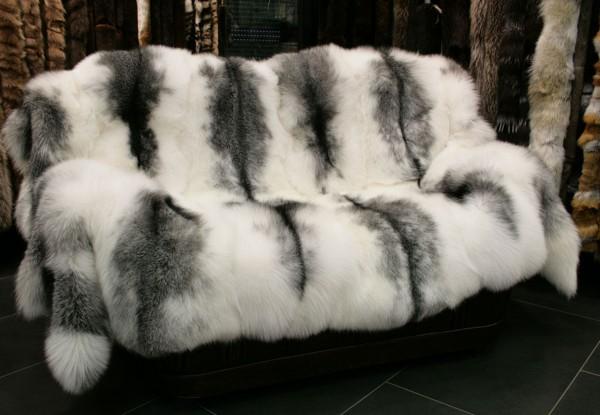 SAGA Arctic Marble Frost Fuchs Felldecke SAGA - OA Ware