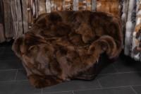 Arctic Marble Frost Fuchsdecke in Kastanienbraun