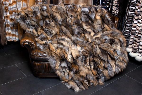 Besondere Golden Cross Fuchsseiten Pelzdecke