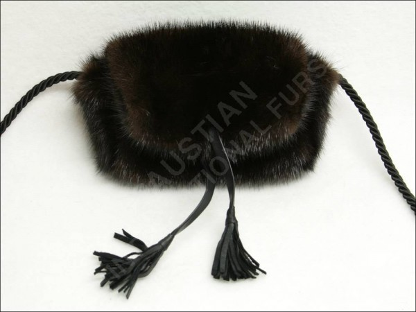 kleine Pelztasche Damentasche aus Nerz