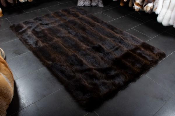 Waschbär Pelz Teppich aus Wildware