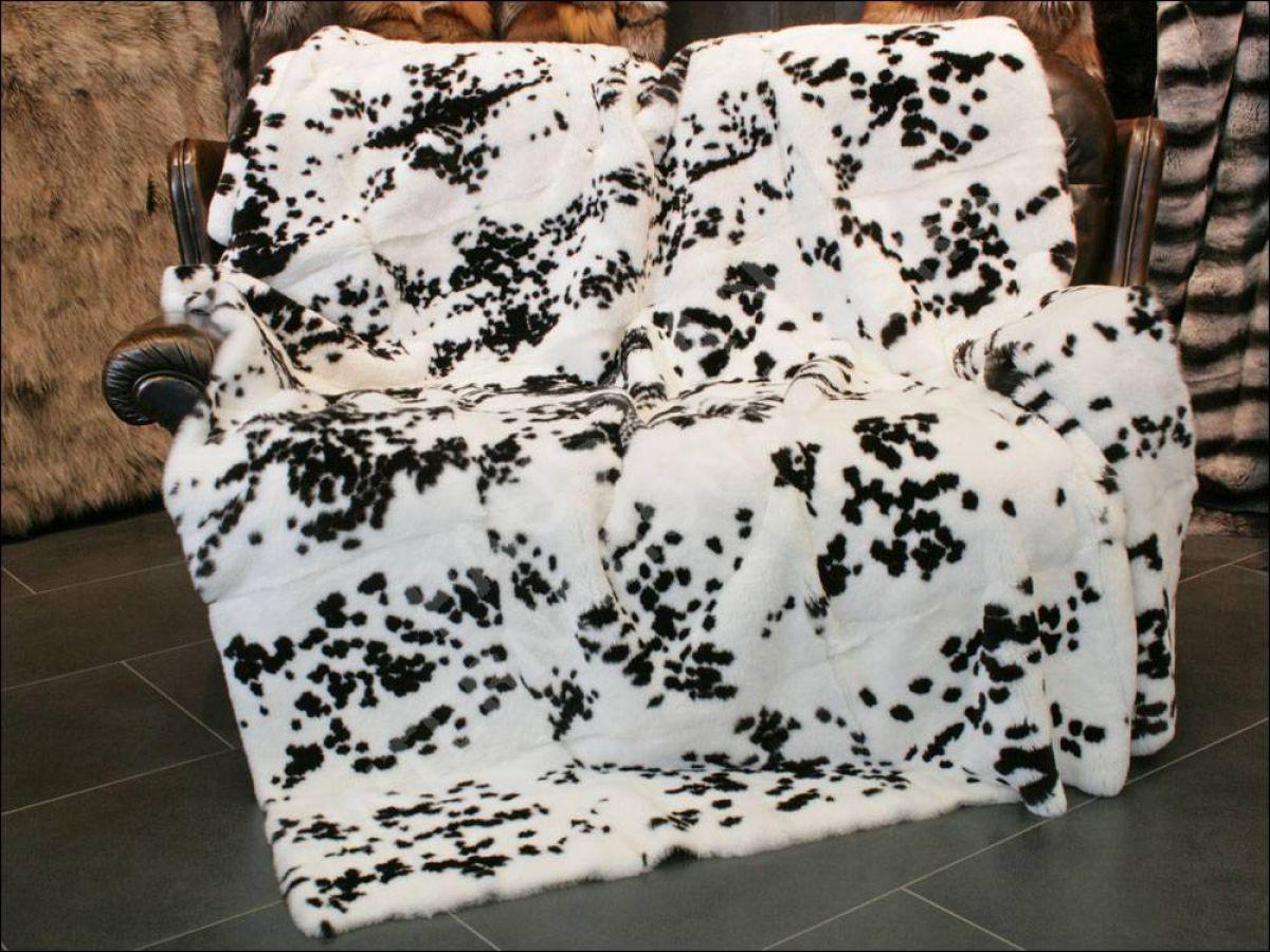 788 rexkaninchen pelzdecke felldecke echtfell echt pelz fell decke plaid kanin ebay. Black Bedroom Furniture Sets. Home Design Ideas