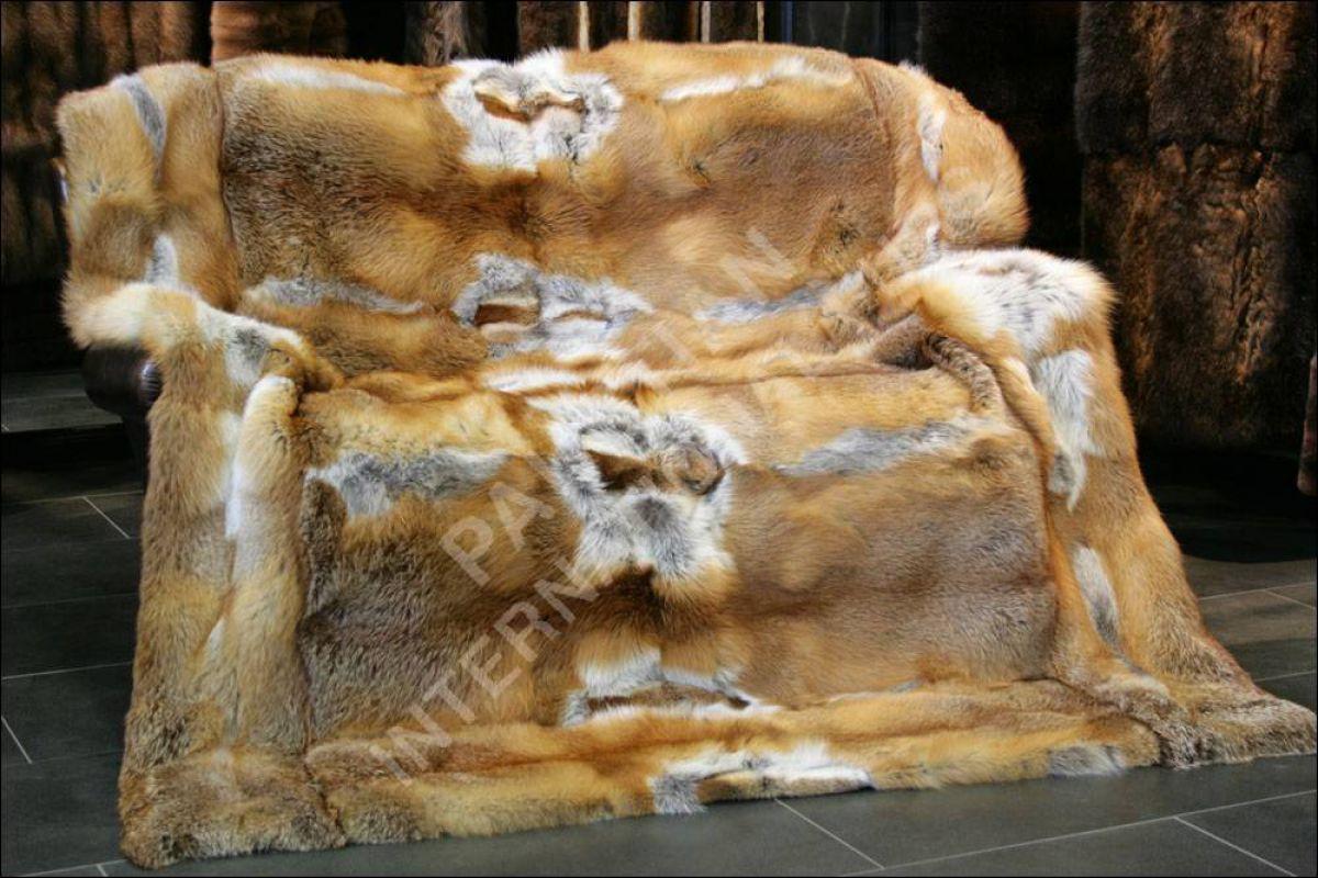 622 rotfuchsdecke felldecken pelzdecke echt fell pelz. Black Bedroom Furniture Sets. Home Design Ideas