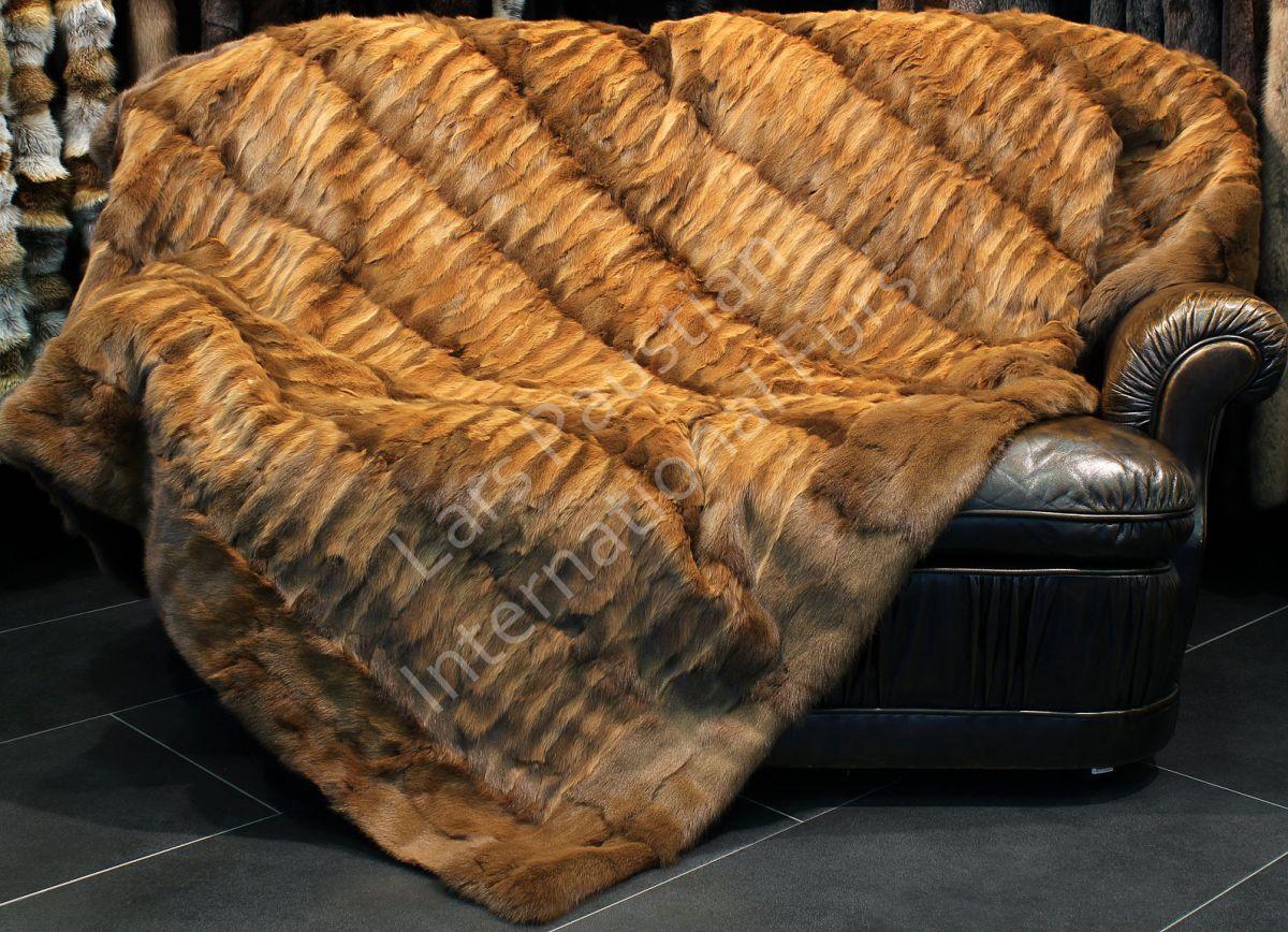 wintergarten kiel 1205 feh echt pelzdecke decke felldecke pelz plaid tagesdecke fell neu ebay. Black Bedroom Furniture Sets. Home Design Ideas